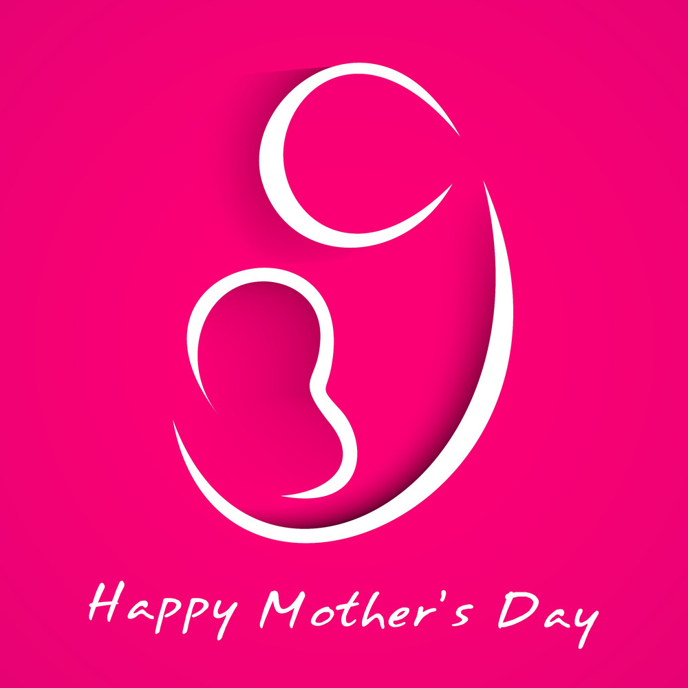 Happy Mothers Day Concept
