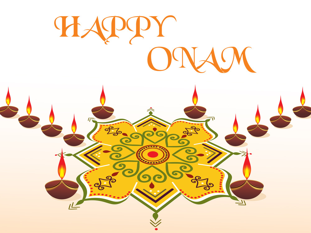 Happy Onam Backgound