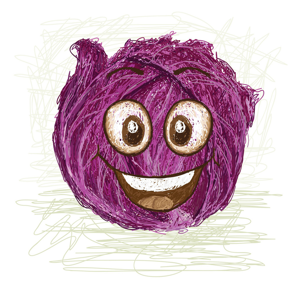 Happy Red Cabbage