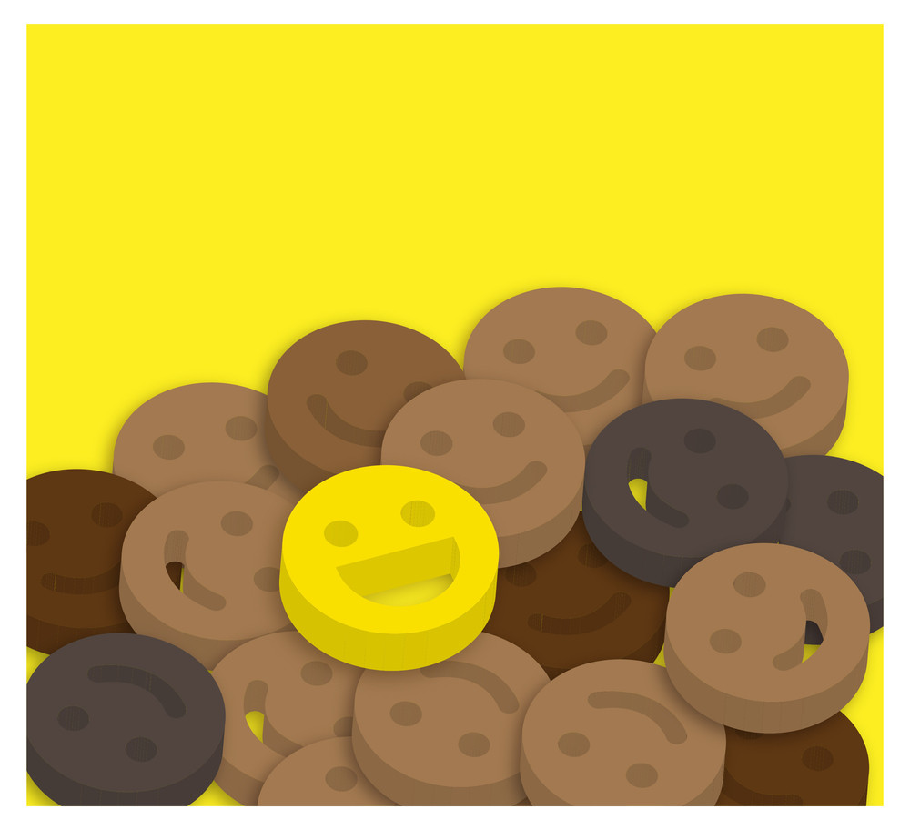 Happy Smiley Background