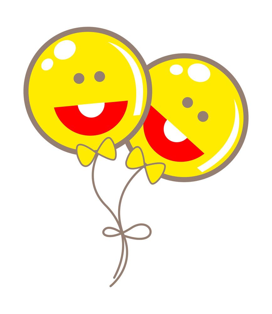 Happy Smiley Balloons