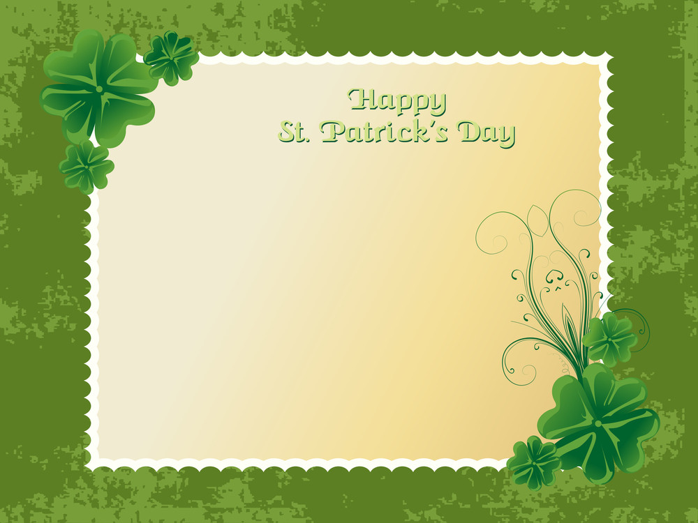Happy St Patrick Day Illustration