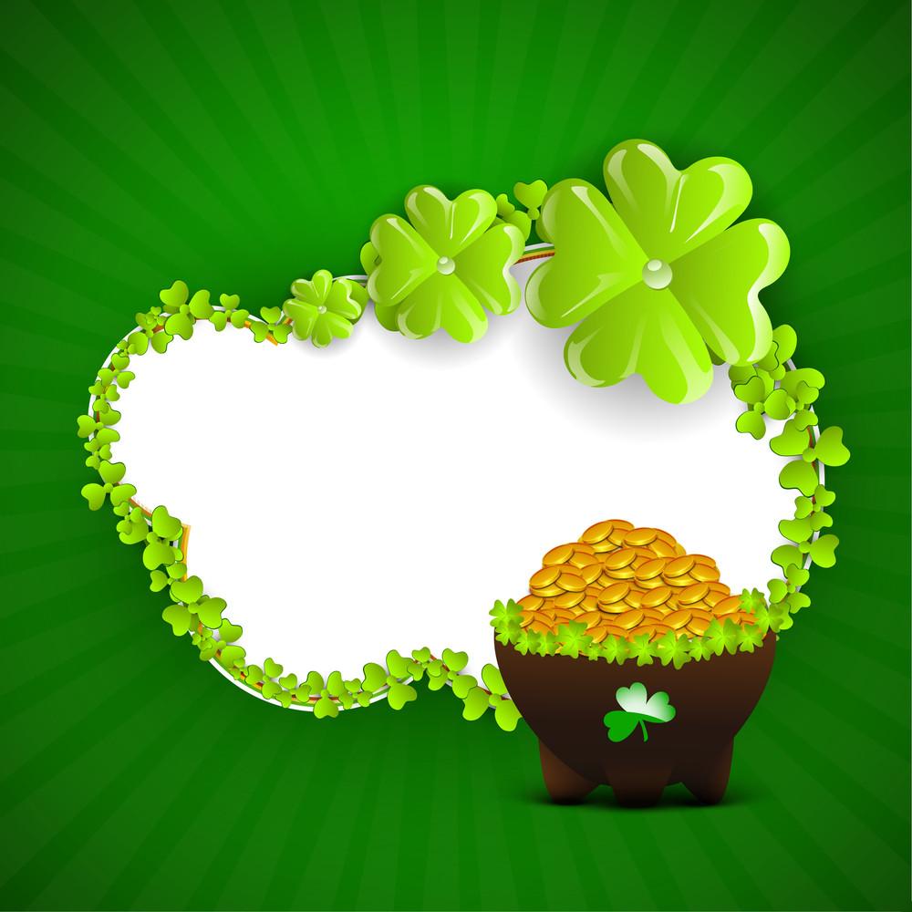 Happy St. Patricks Day Celebration Poster