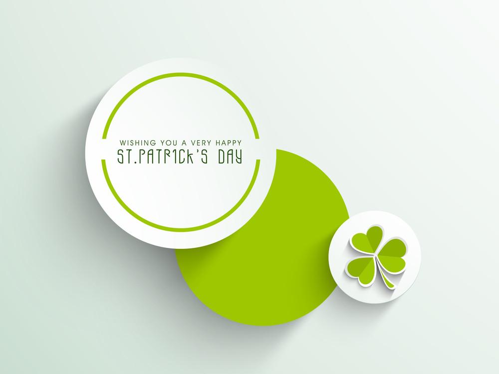 Happy St. Patrick's Day Celebrations Sticker
