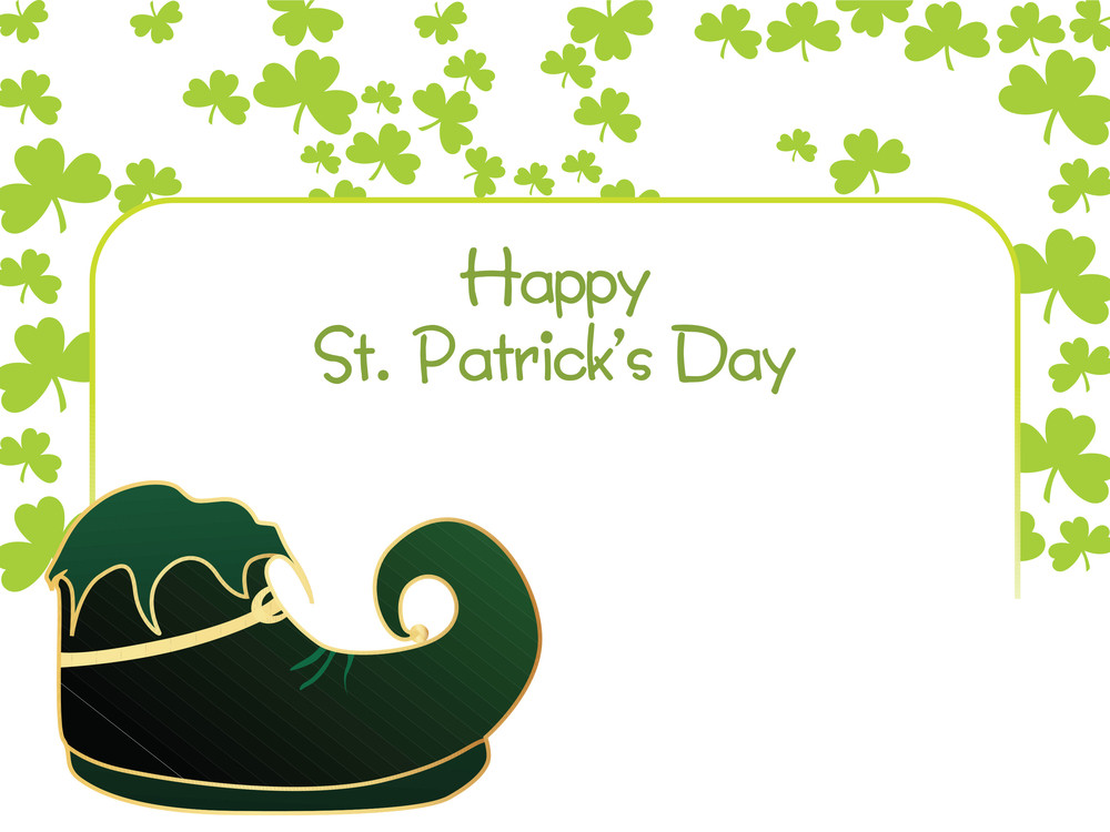 Happy St. Patrick's Day With Shoes 17 March