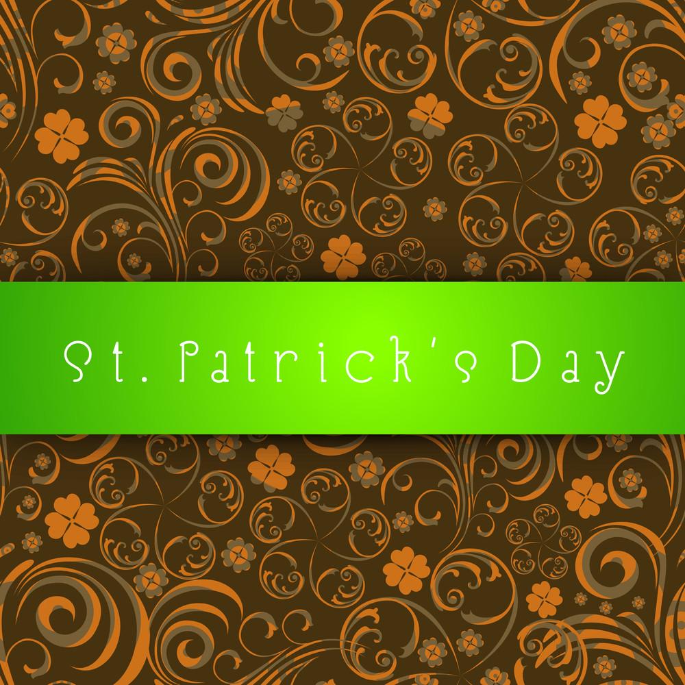 Happy St Ptrick's Day Background