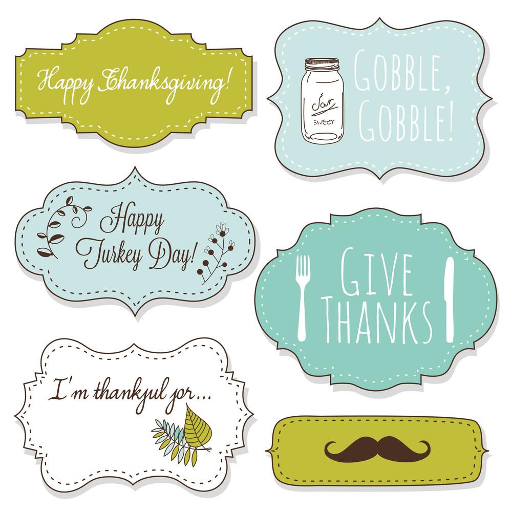 Happy Thanksgiving Frames