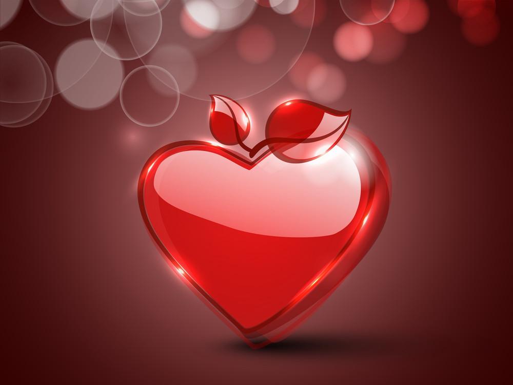 Happy Valentines Day Background Royalty-Free Stock Image - Storyblocks