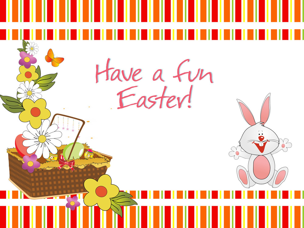 Have A Fun Easter Background