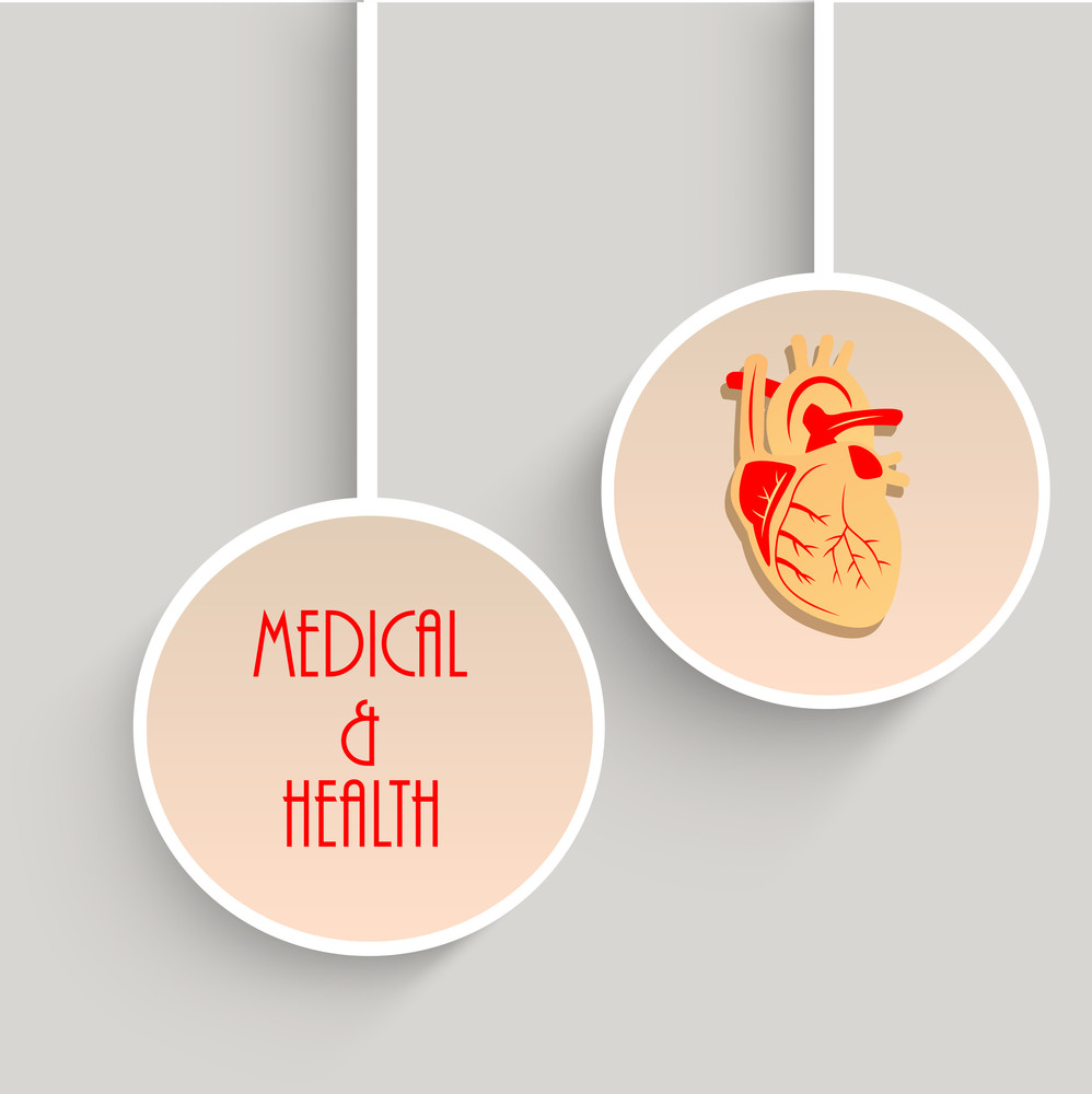Health & Medical Concept With Hanging Sticker