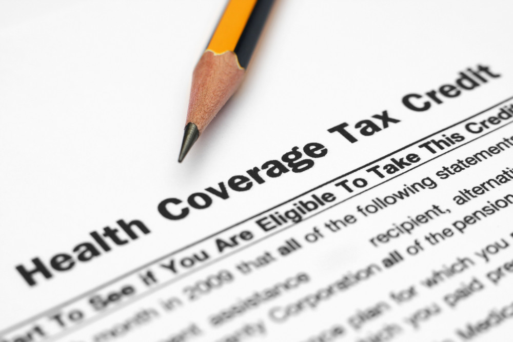 Health Tax Credit Form Royalty-Free Stock Image - Storyblocks