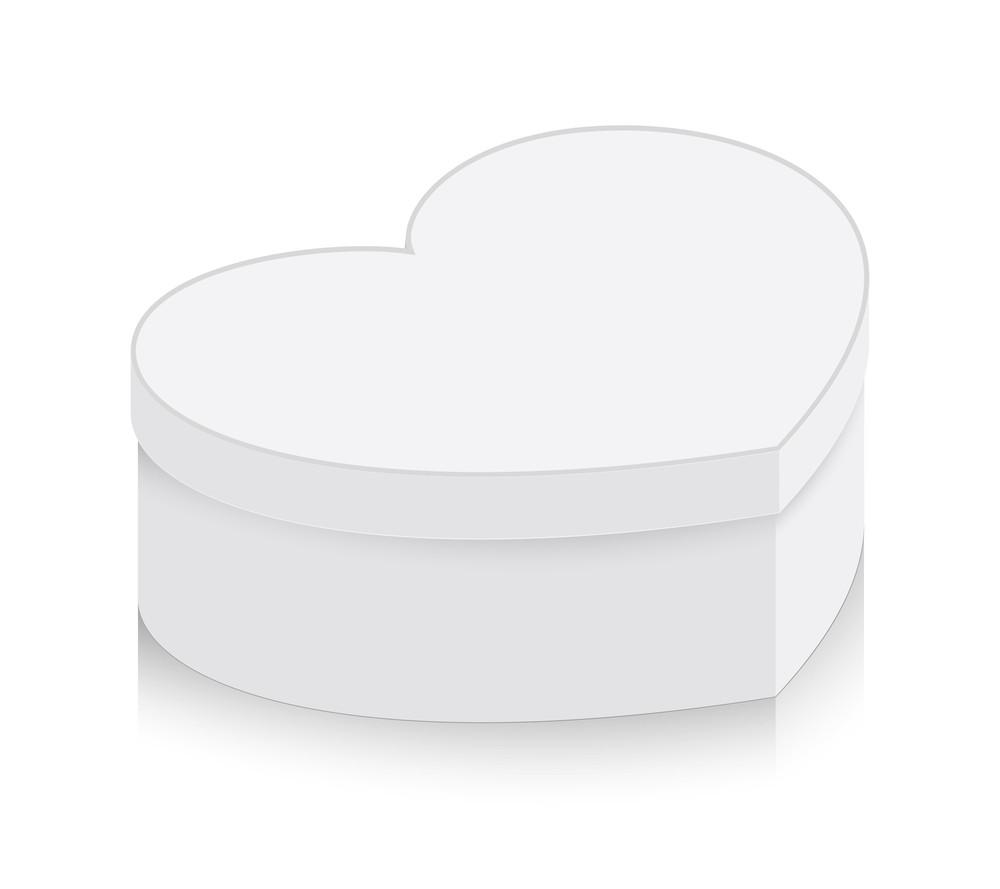 Heart Box Vector Shape