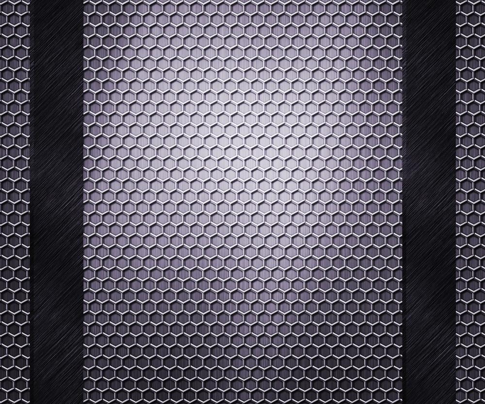 Hex Metal Background