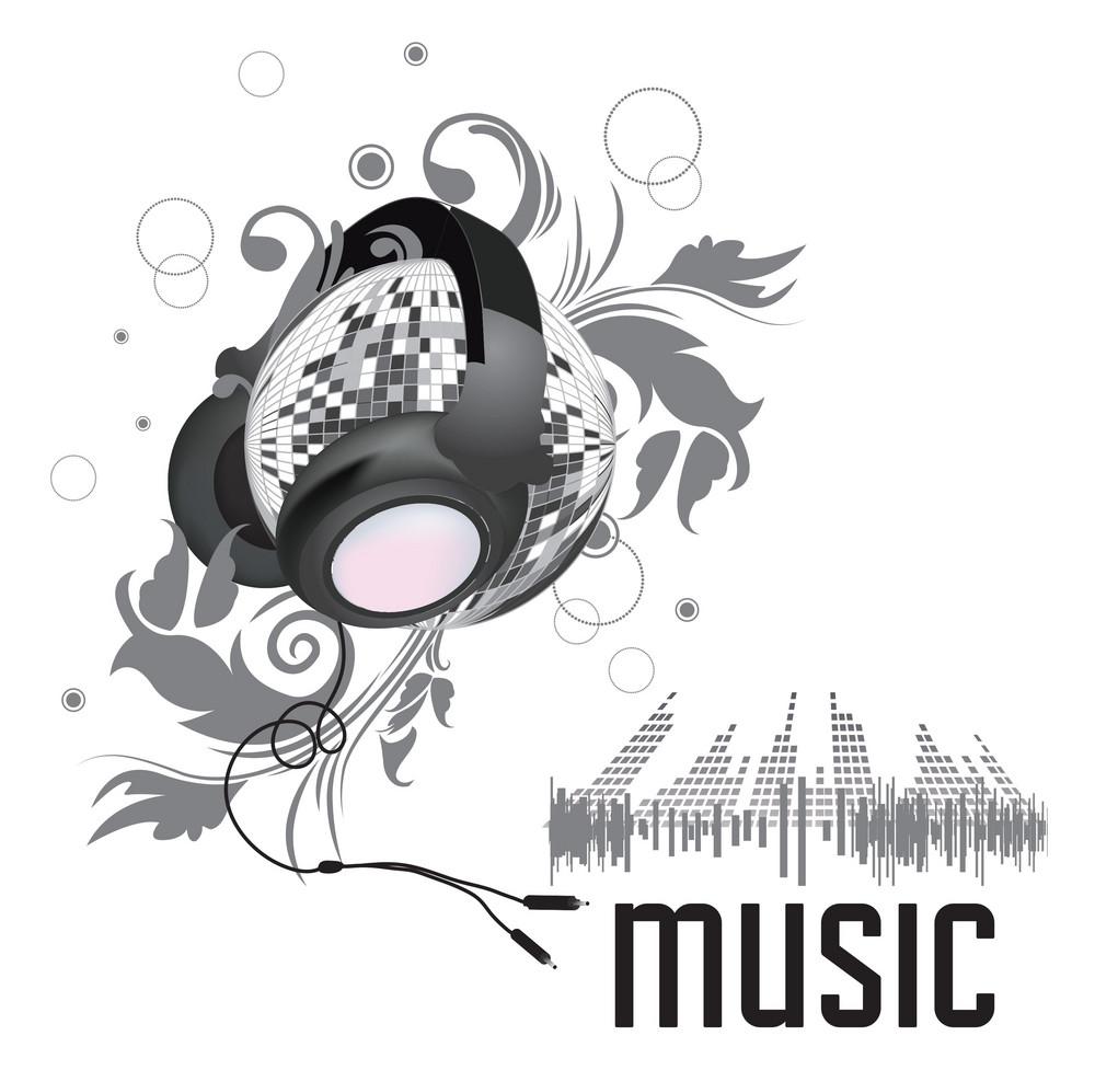 High Detail Music Background