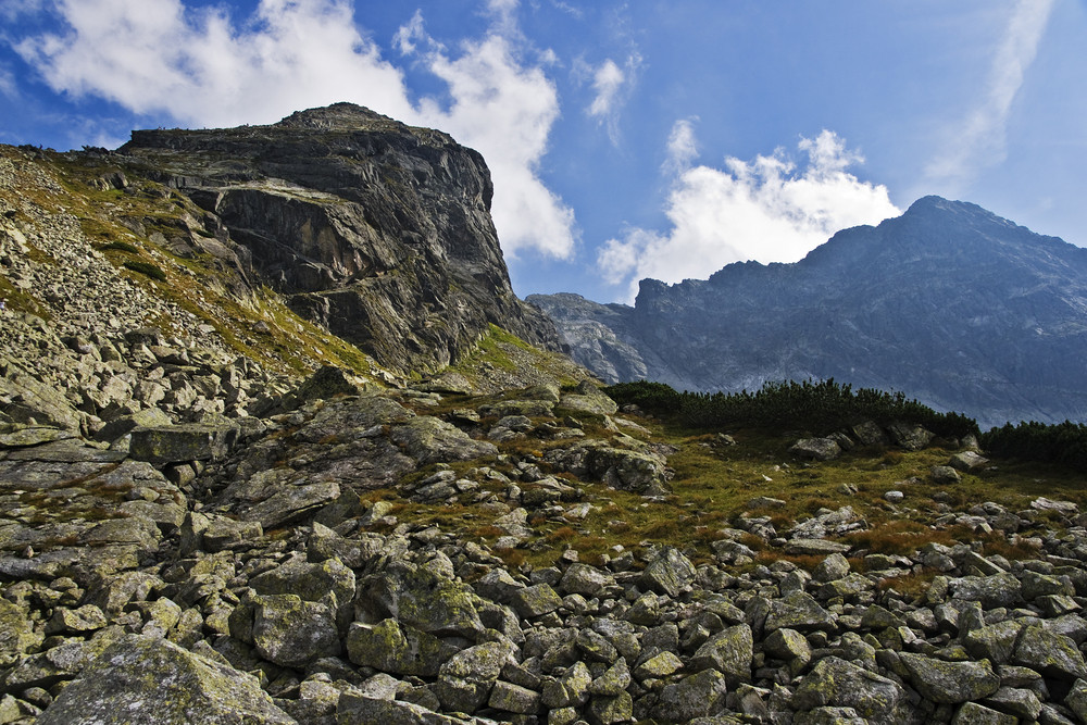 High Polish Tatra Mountains Landscape