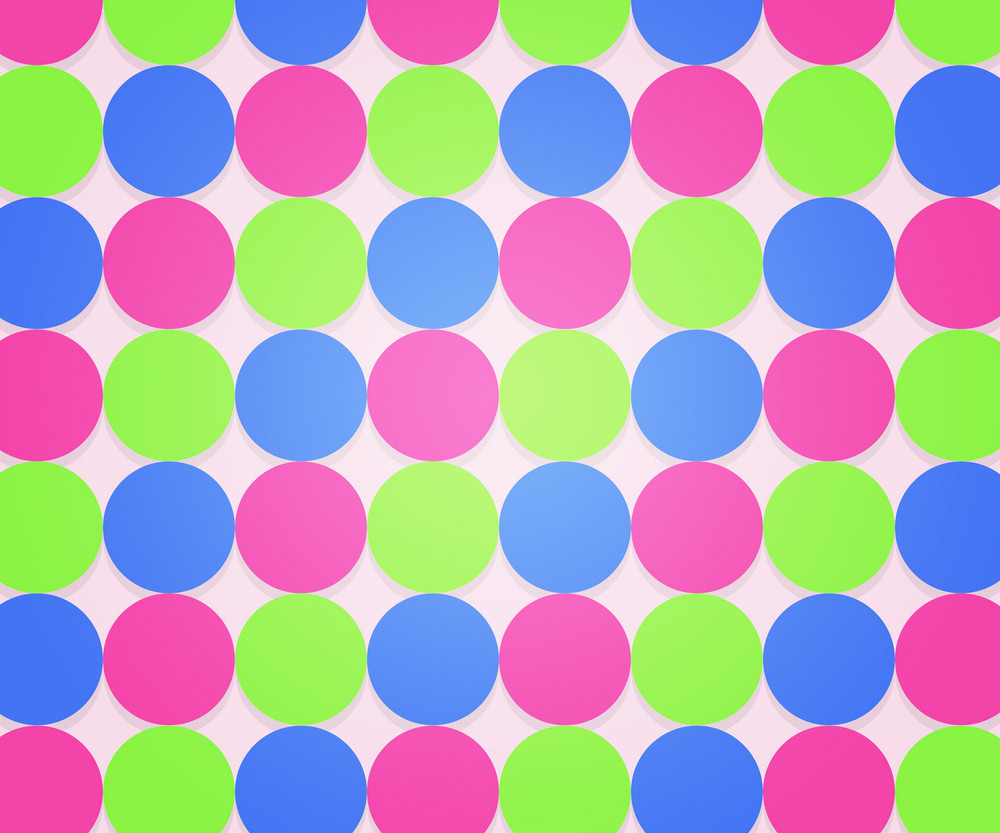 Hipster Dots Backdrop