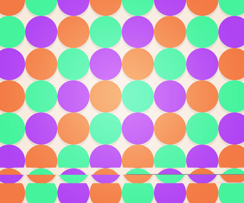 Hipster Dots Background