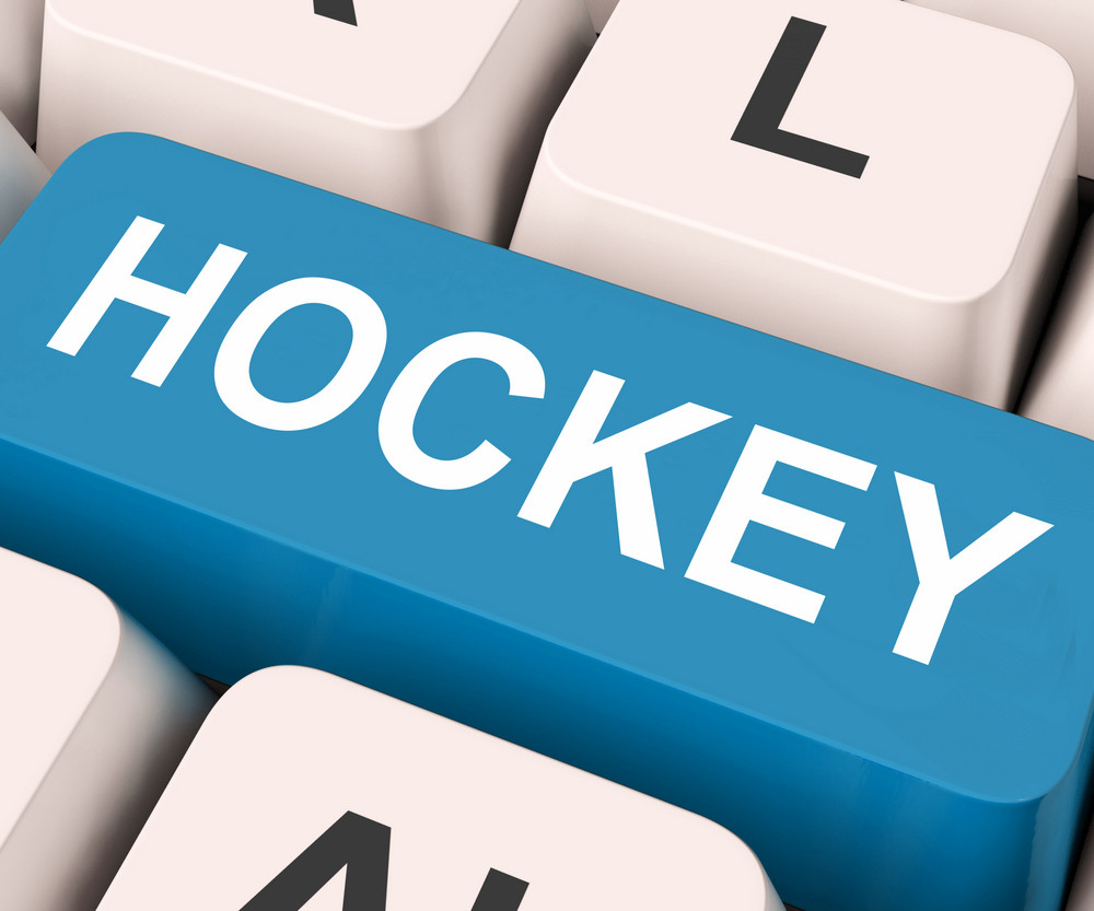Hockey Key Means Game Or Sport