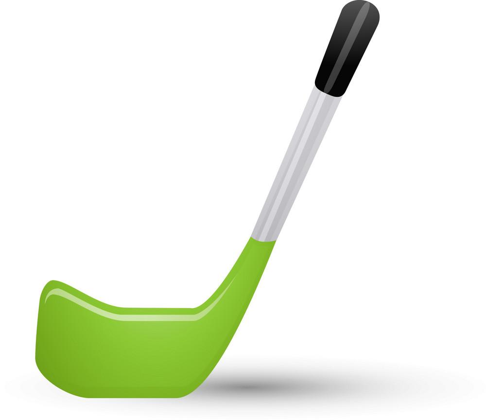Hockey Stick Lite Sports Icon