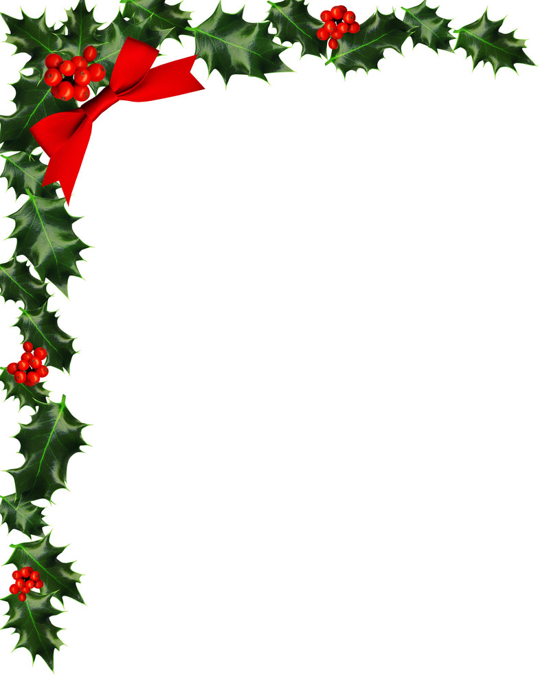 Holly with berries border royalty free stock image storyblocks for Holly and ivy border