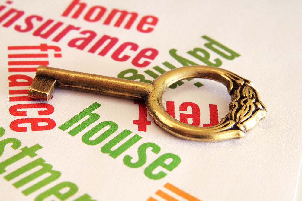 Home And Key Concept
