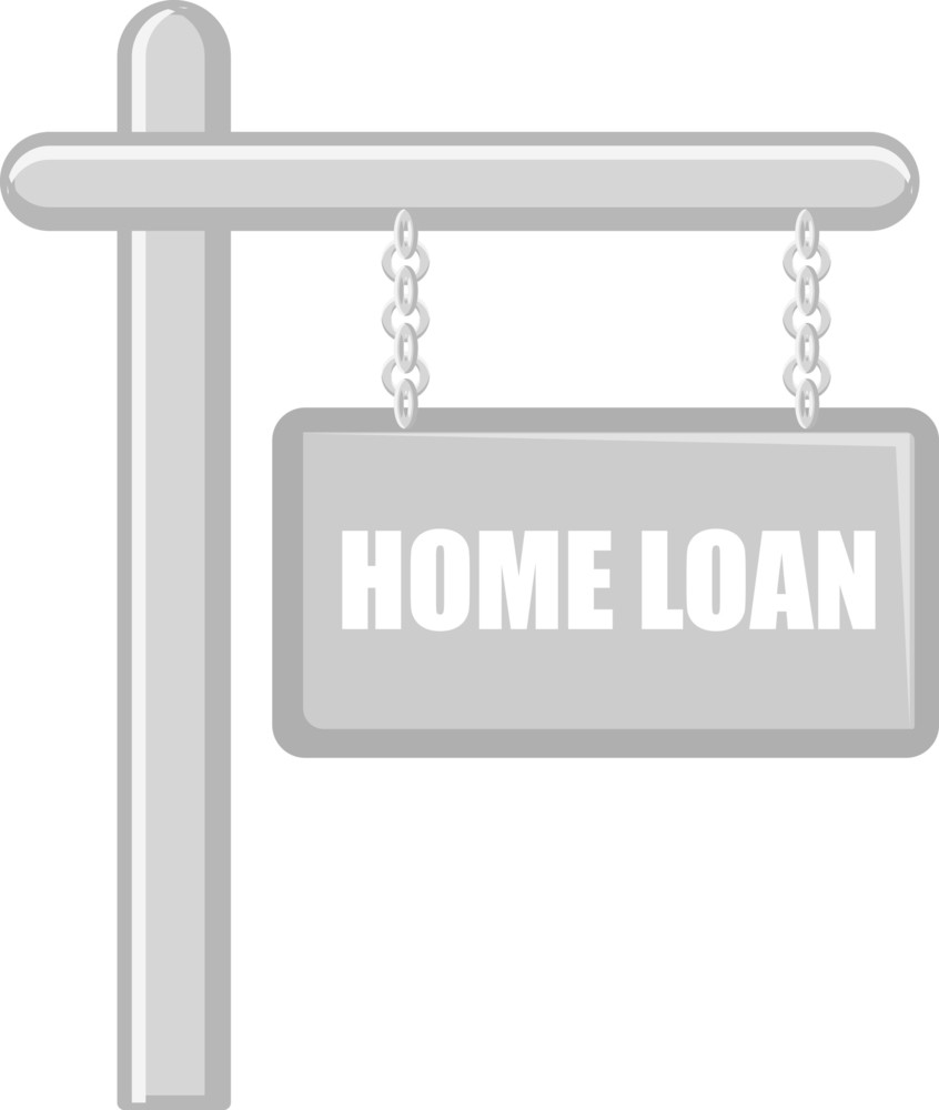 Home Loan - Real Estate Concept - Vector Character Cartoon Illustration