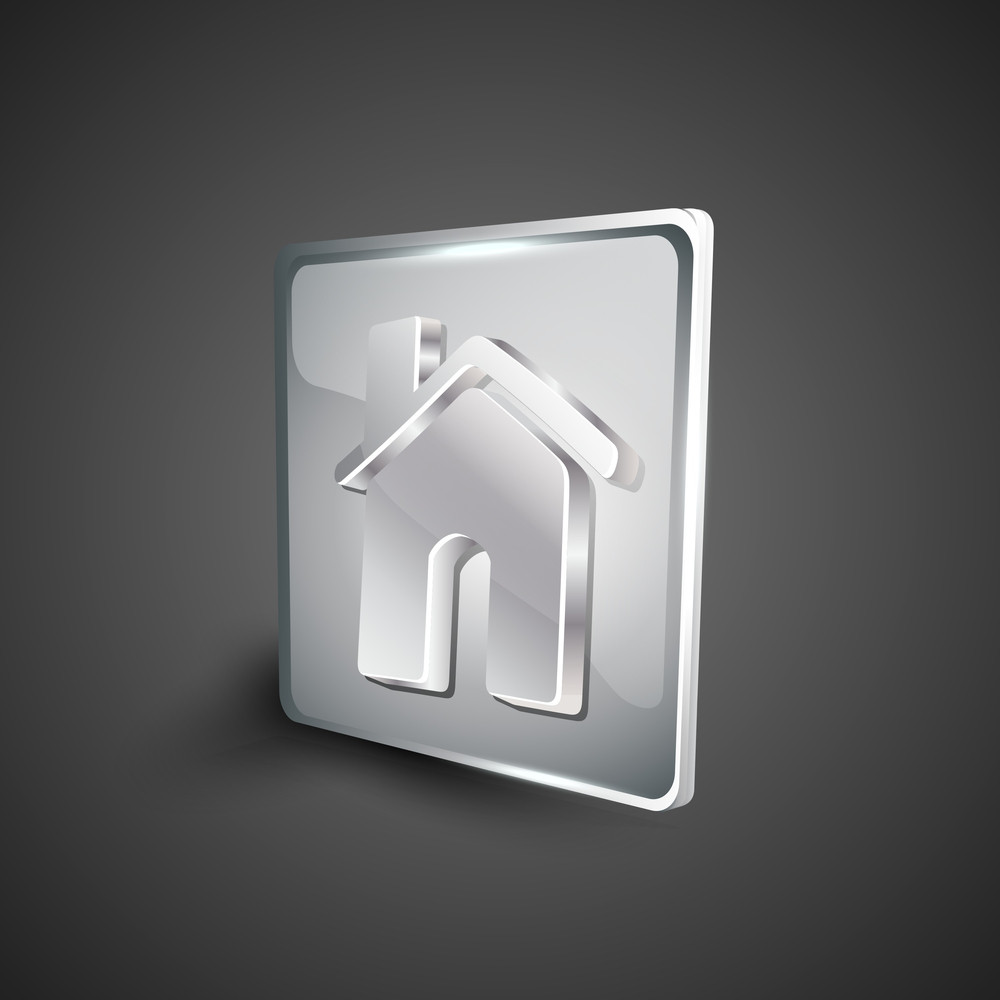 Home Or Homepage Symbol Icon Set.
