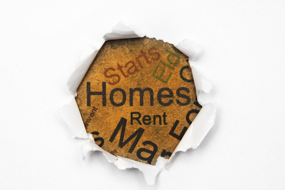 Homes And Rent Concept