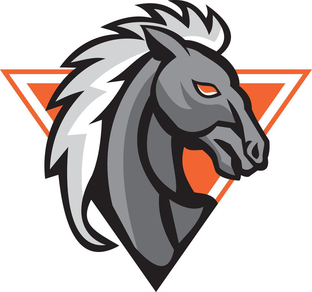 Horse Head Side Retro