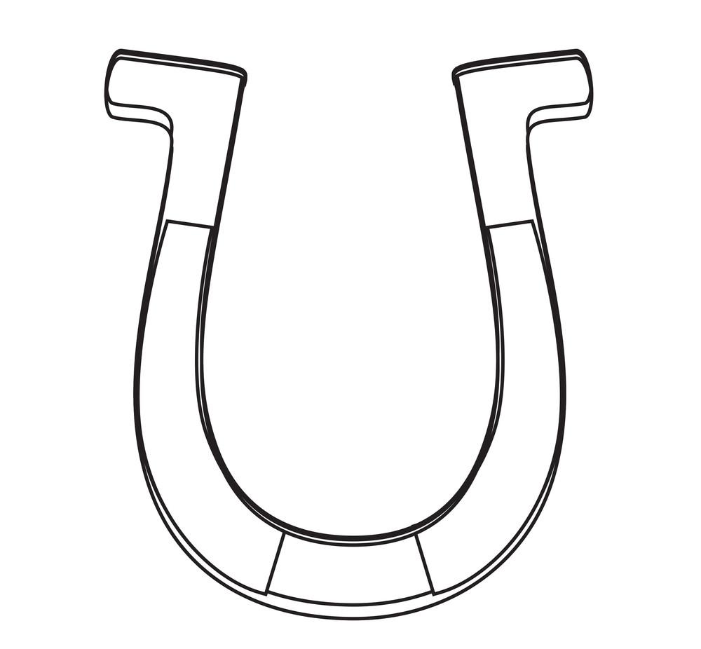 Horseshoe Shape Drawing