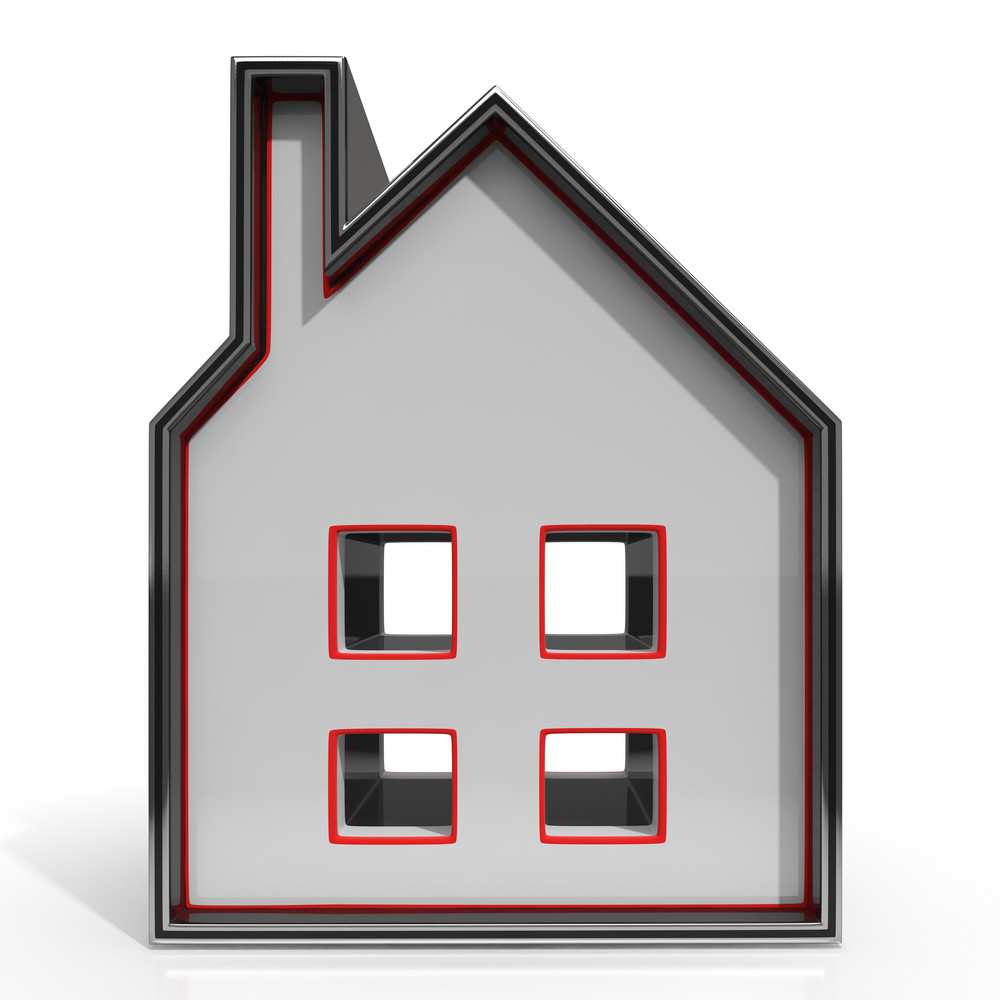 House Icon Showing Home For Sale