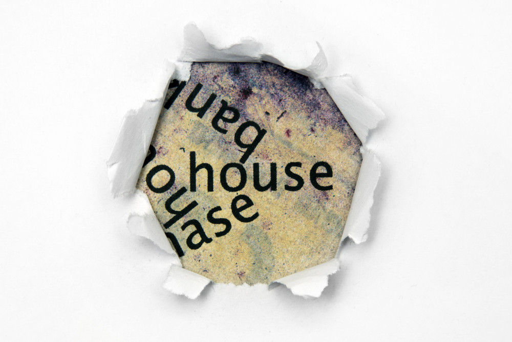 House Paper Hole