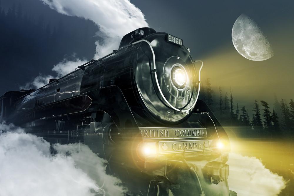 Hudson Steam Locomotive