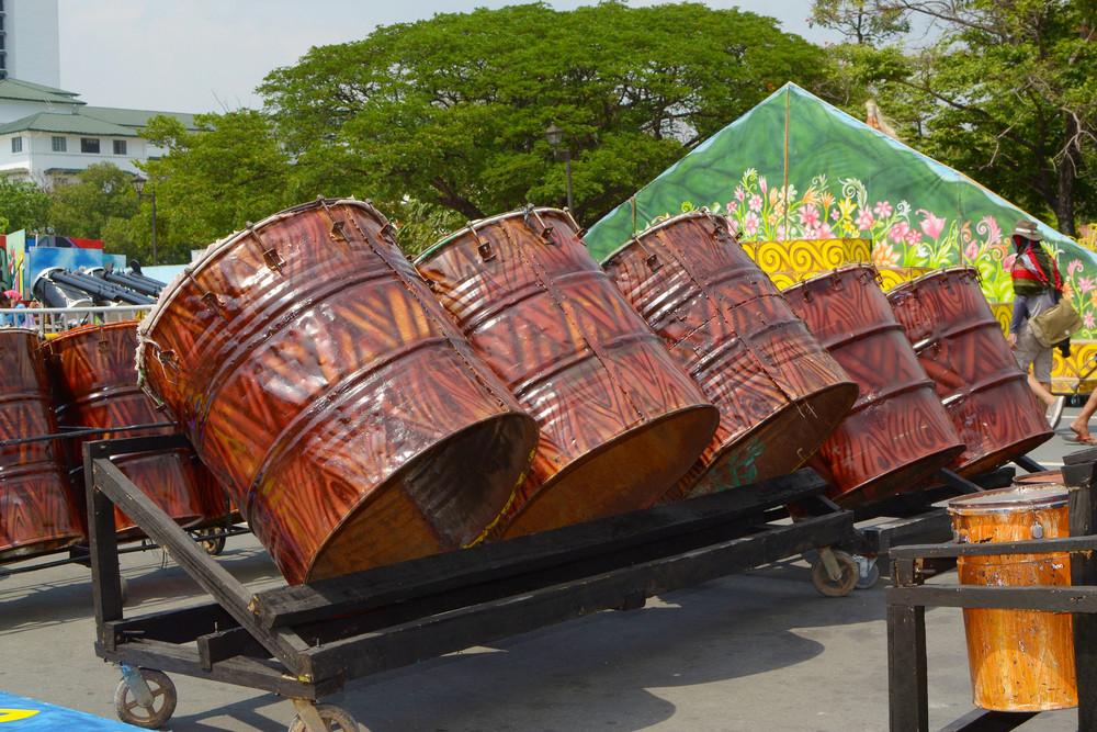 Huge Drum Instrument