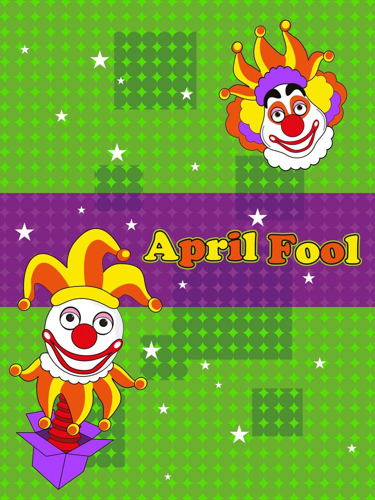 Humor Concept Background For 1 April