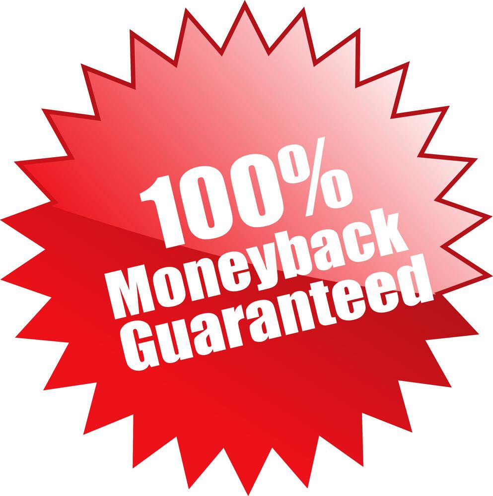 Hundred Percent Moneyback Guaranteed Seal