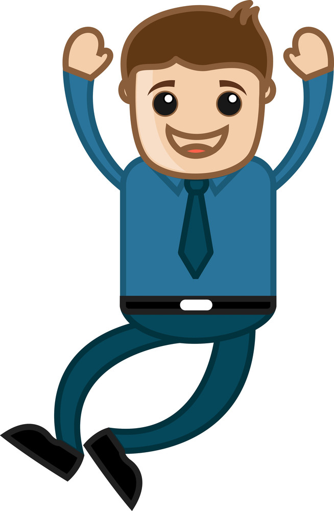 Hurray - Office Corporate Cartoon People