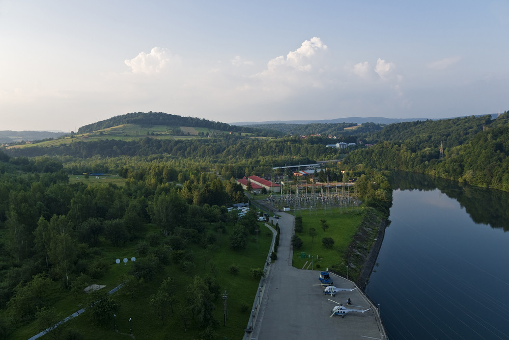 Hydroelectric Power Station In Solina In Poland