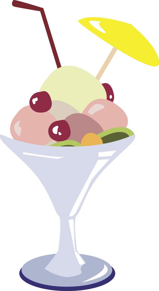 Ice Cream Vector Element
