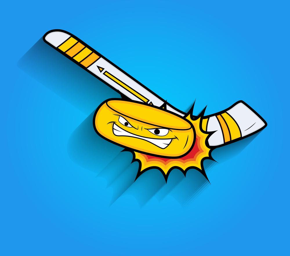 Ice Hockey Vector Elements
