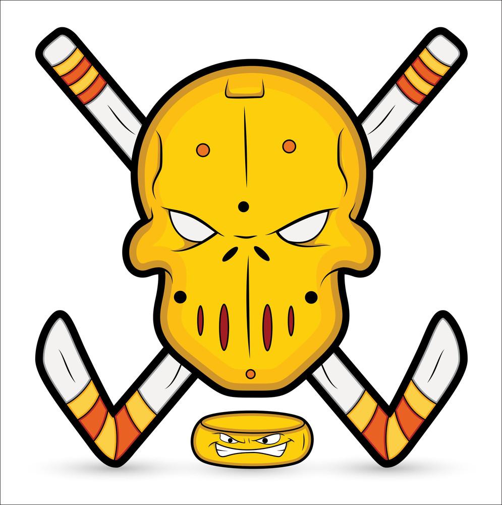 Ice Hockey Vector Mascot