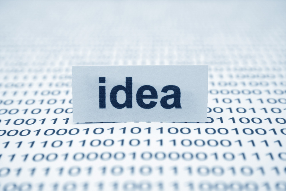 Idea Text On Binary Data