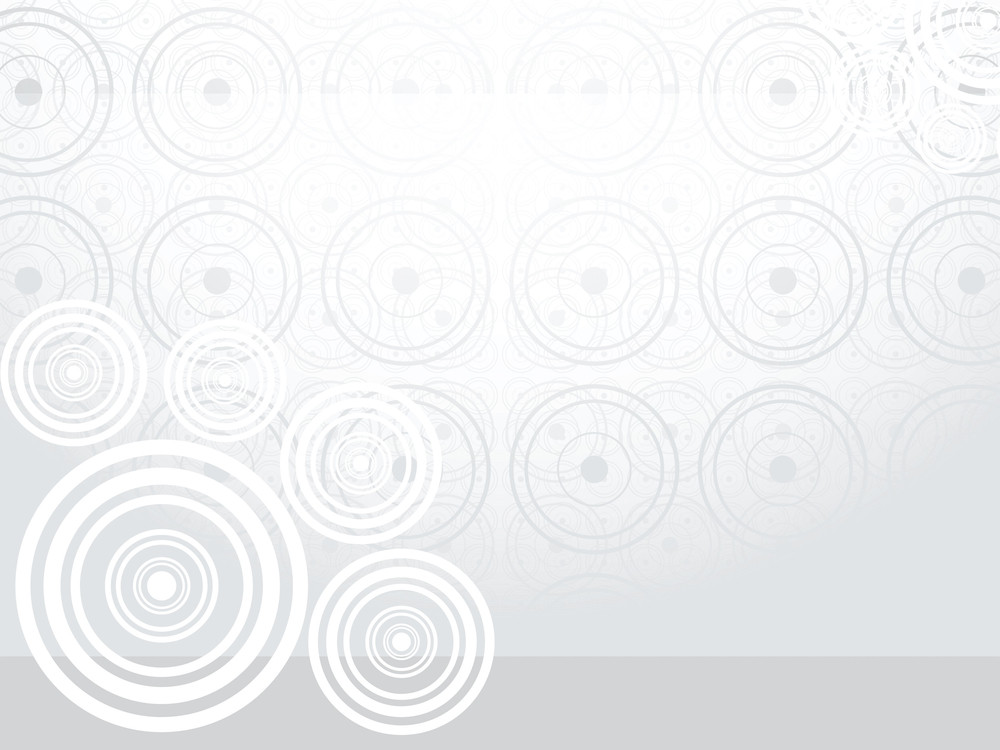 Illustration Background With Circles
