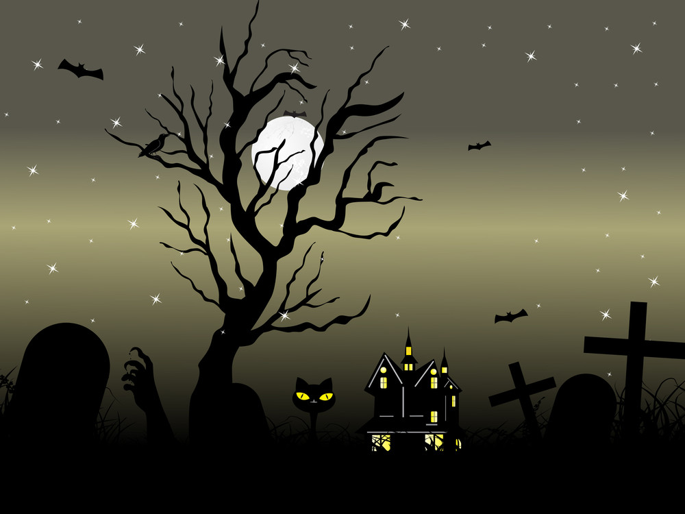 Illustration For Halloween Day