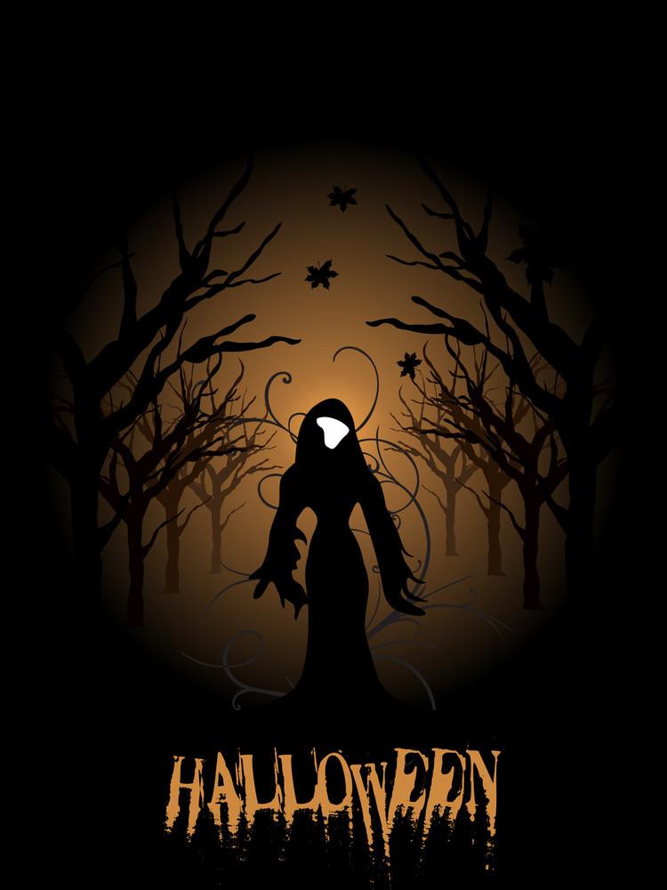 Illustration For Halloween