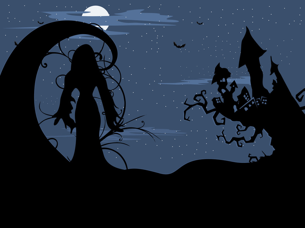 Illustration For Happy Halloween