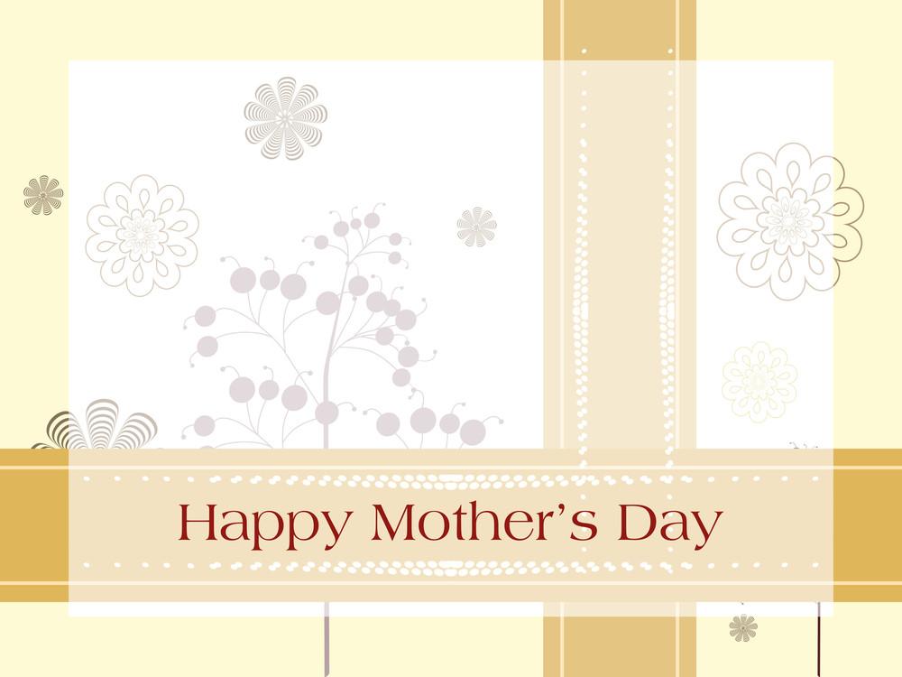 Illustration For Happy Mother's Day Celebration