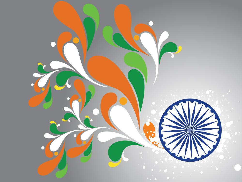 Illustration For Happy Republic Day