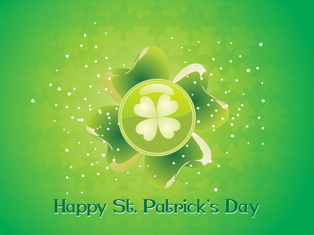 Illustration For Happy St. Patrick's Day