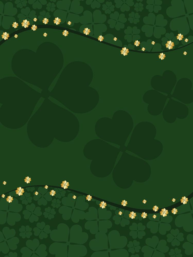 Illustration For Happy St Patricks Day